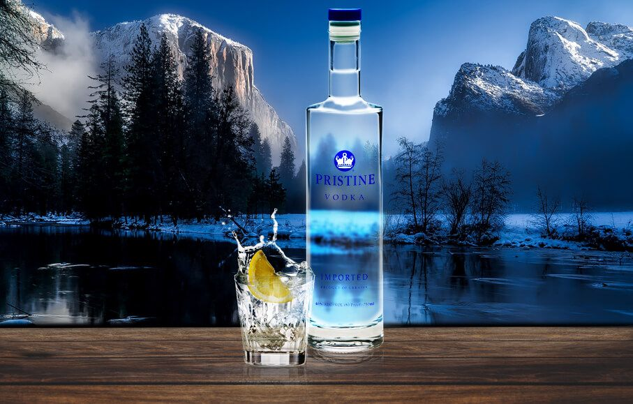 pure premium all-natural vodka