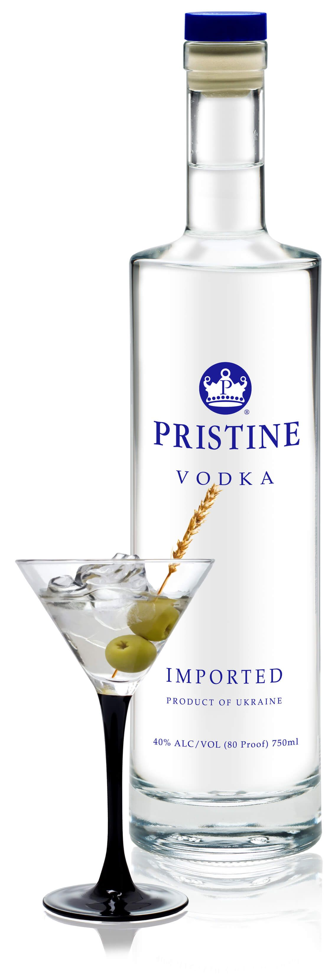 pristine premium quality vodka