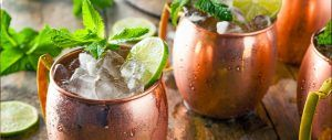 Pristine All-Natural vodka Moscow Mule